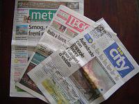 ローマの無料新聞
