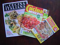 イタリアの料理雑誌