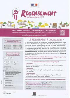 フランス国勢調査2017