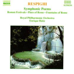 レスピーギ:交響詩
